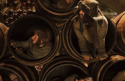 The Hobbit 2: Barrel Escape